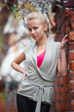 Pretty blond girl Stock Photography
