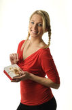 Pretty blond girl Royalty Free Stock Image