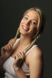 Pretty blond girl Stock Photography