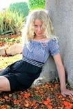 Pretty blond girl Stock Image