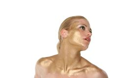Pretty blond woman Royalty Free Stock Photos