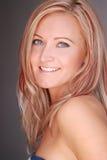 Pretty blond woman. Stock Photo