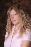 Pretty blond woman. Stock Image
