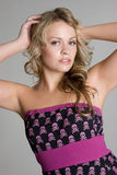 Pretty Blond Woman royalty free stock images