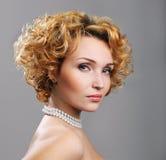 Pretty blond woman Stock Photography