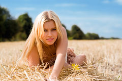 Pretty blonde Royalty Free Stock Image