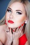 Pretty Blonde Stock Photo