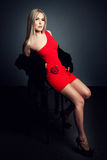 Pretty Blonde Royalty Free Stock Photo