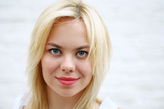 Pretty Blonde Face Royalty Free Stock Photos