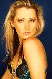 Pretty Blonde Girl Stock Photo