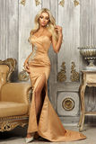Pretty blonde in mermaid dress Royalty Free Stock Photos