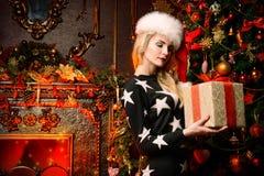 Pretty blonde woman Royalty Free Stock Photos