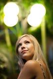 Pretty Blonde Woman Stock Photos