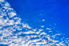 Pretty blue sky filled Stock Photo