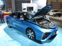 Free Pretty Blue Toyota Mirai Fuel Cell Car Royalty Free Stock Photos - 109636168