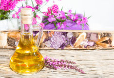 Pretty Bottle Of Perfume Royalty Free Stock Images