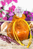 Pretty bottle of perfume Royalty Free Stock Photography