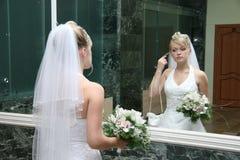 Pretty bride Stock Images