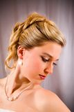 Pretty bride. Royalty Free Stock Images