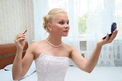Pretty bride Stock Photo