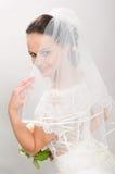 Pretty bride. stock photography