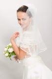 Pretty bride. Stock Photos