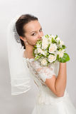 Pretty bride. Royalty Free Stock Photography