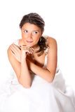 Pretty bride Royalty Free Stock Photography