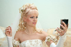 Pretty bride Royalty Free Stock Image