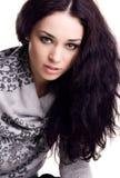 Pretty Brunette Stock Photo