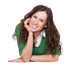 Pretty brunette Royalty Free Stock Images