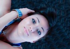 Pretty brunette Stock Photography
