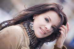 Pretty brunette Royalty Free Stock Image