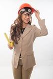 Pretty brunette asian woman Royalty Free Stock Image