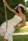 Pretty Brunette Royalty Free Stock Photo