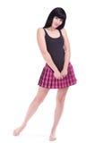 Pretty Brunette Girl Royalty Free Stock Images
