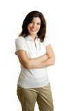 Pretty Brunette Woman Royalty Free Stock Images