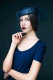 Pretty brunette woman Royalty Free Stock Photo