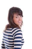 Pretty brunette women portrait Stock Photo