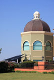 Pretty building with dome. Beautiful building with dome on day Stock Photos