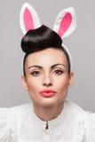 Pretty bunny girl Royalty Free Stock Photography