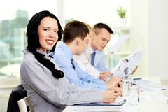 Pretty business lady Royalty Free Stock Photo