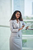 Pretty business lady Stock Images