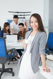 Pretty business lady Stock Photography