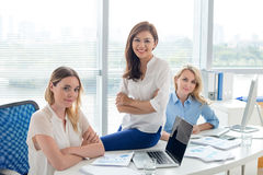 Pretty business team Royalty Free Stock Photography