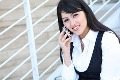 Pretty Business Woman Royalty Free Stock Photos