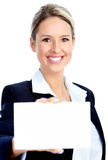 Pretty business woman Stock Photography