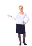 Pretty business woman Royalty Free Stock Photography