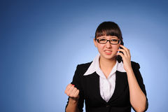 Pretty business woman Royalty Free Stock Photo