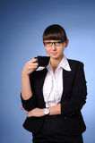 Pretty business woman Stock Photos